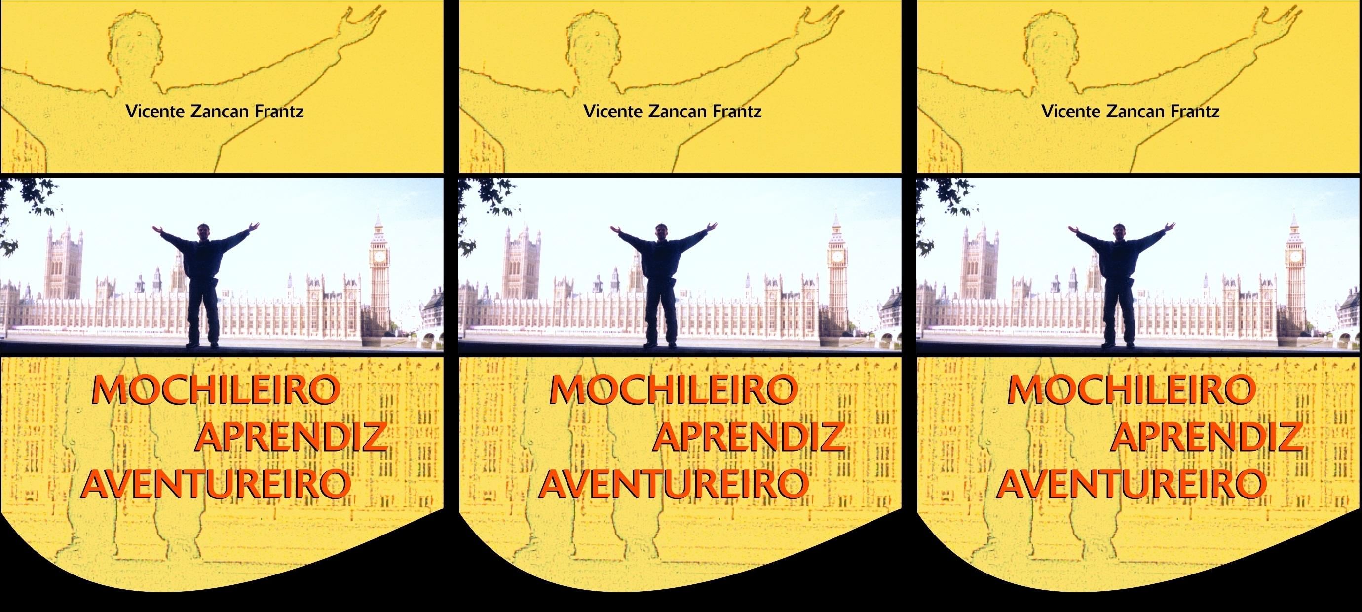 Capa do livro Mochileiro Aprendiz Aventureiro.